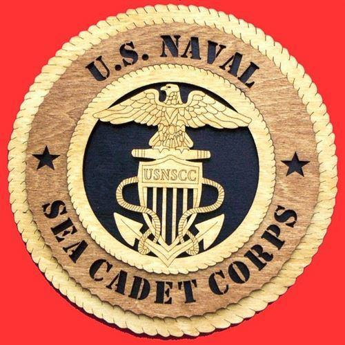 Laser Pics and Gifts:  SEA CADET CORPS Military Plaque - Laser Pics & Gifts