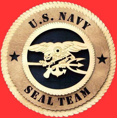 SEAL TEAM Military Plaque