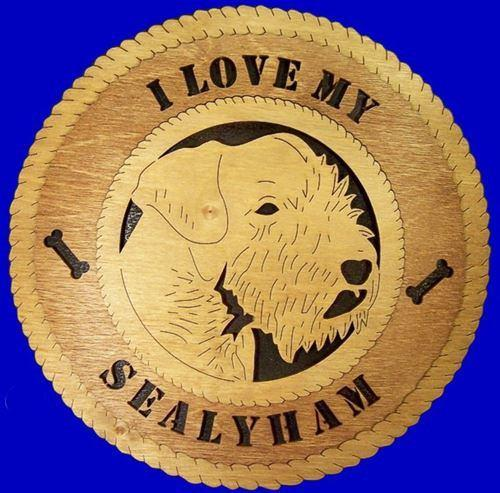 SEALYHAM Dog Plaque