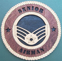 SENIOR AIRMAN Military Plaque