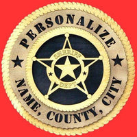 SHERIFF Professional Plaque