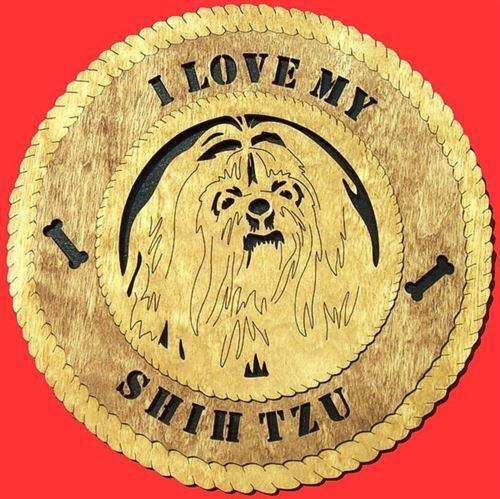 SHIH-TZU Dog Plaque