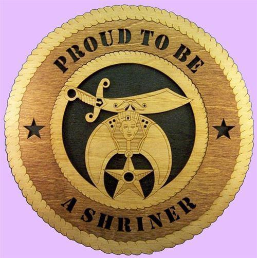 Laser Pics and Gifts:  Shriner Plaque - Laser Pics & Gifts