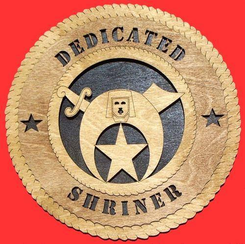 Laser Pics and Gifts:  Shriner 2 Plaque - Laser Pics & Gifts