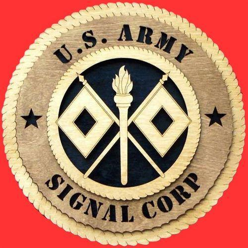 SIGNAL CORPS Military Plaque