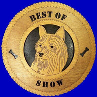 SILKY-TERRIER Dog Plaque