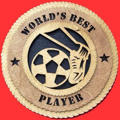Laser Pics and Gifts:  SOCCER KICK Plaque - Laser Pics & Gifts