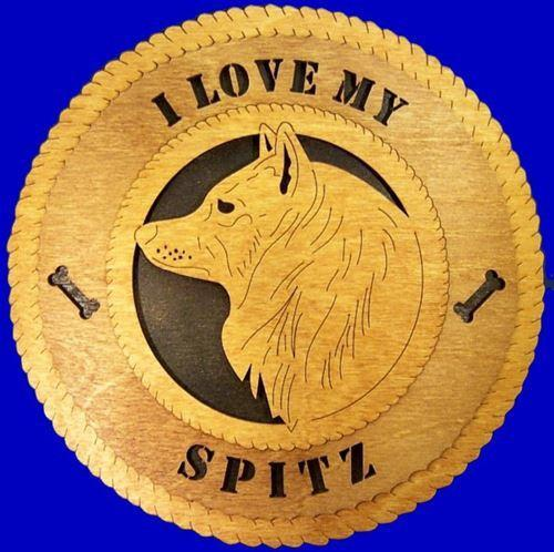 SPITZ Dog Plaque