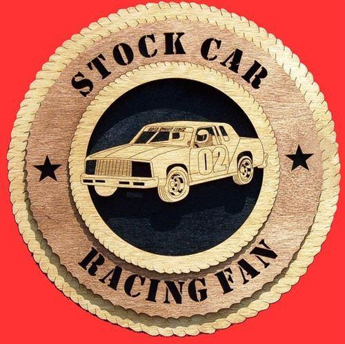 STOCK CAR RACER Plaque