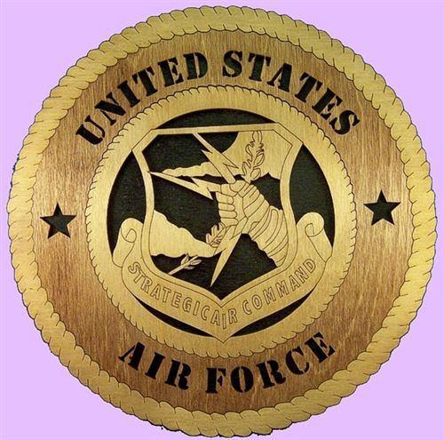 STRATEGIC COMMAND Military Plaque