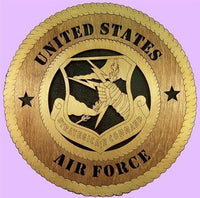 Laser Pics and Gifts:  STRATEGIC COMMAND Military Plaque - Laser Pics & Gifts