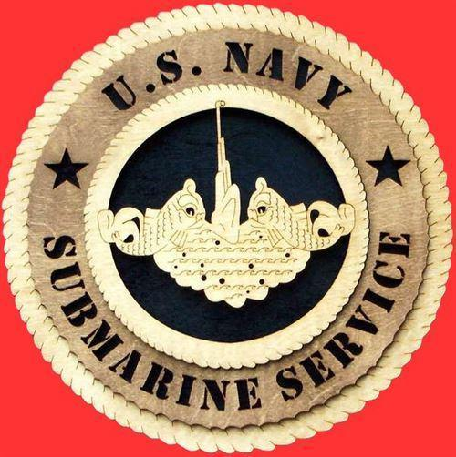 Laser Pics and Gifts:  SUBMARINE Military Plaque - Laser Pics & Gifts