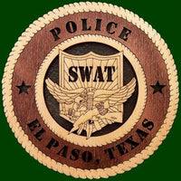 Laser Pics and Gifts:  Swat Professional Plaque - Laser Pics & Gifts