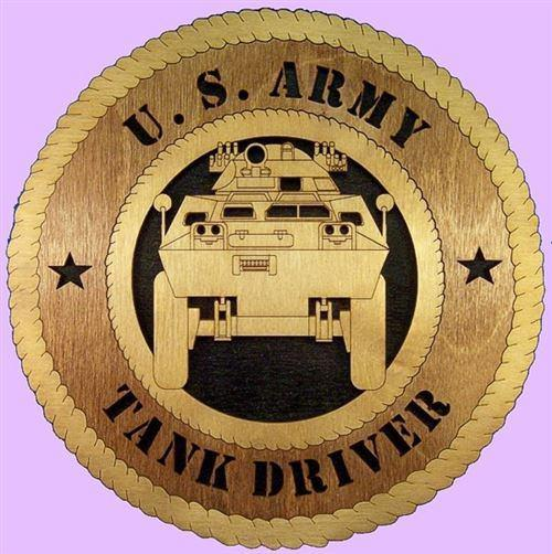 TANK Military Plaque