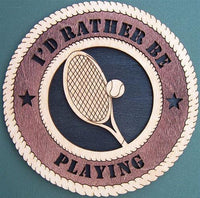 "Laser Pics and Gifts: 12"" TENNIS Plaque - Laser Pics & Gifts"