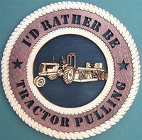 TRACTOR PULL Plaque