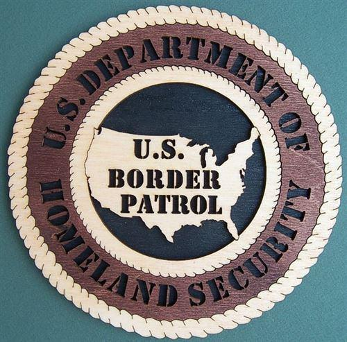 U.S. BORDER PATROL Professional Plaque