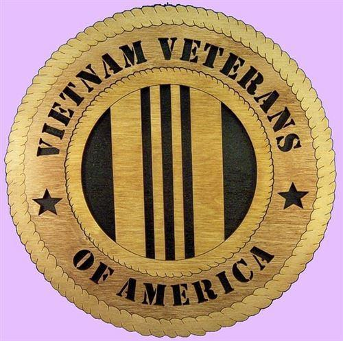 VIETNAM VETERANS Military Plaque