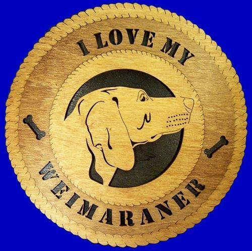 WEIMARNER Dog Plaque