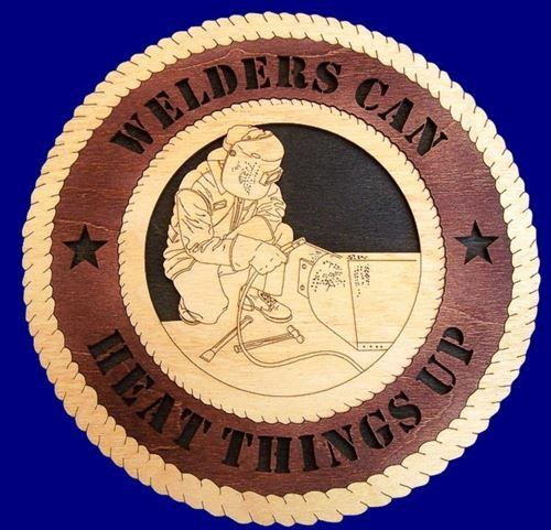 WELDER Professional Plaque