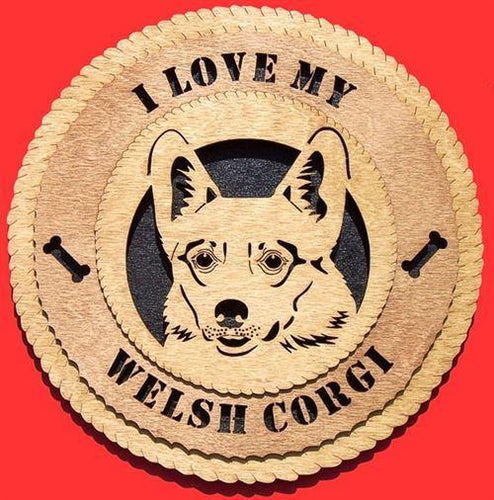 WELSH-CORGI Dog Plaque