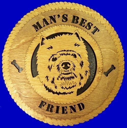 Laser Pics and Gifts:  WEST HIGHLAND Dog Plaque - Laser Pics & Gifts
