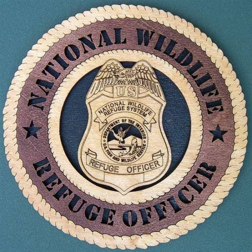 WILDLIFE REFUGE OFFICER Professional Plaque