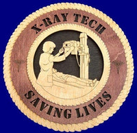 "Laser Pics and Gifts: 12"" X-RAY TECHNICIAN Professional Plaque - Laser Pics & Gifts"