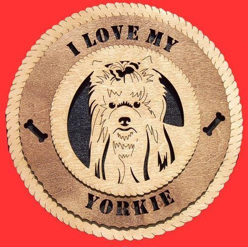 YORKSHIRE-TERRIER Dog Plaque