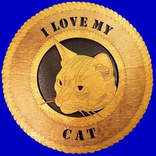 Laser Pics and Gifts: CAT HEAD Plaque - Laser Pics & Gifts