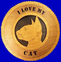 Laser Pics and Gifts: CAT 3 Plaque - Laser Pics & Gifts