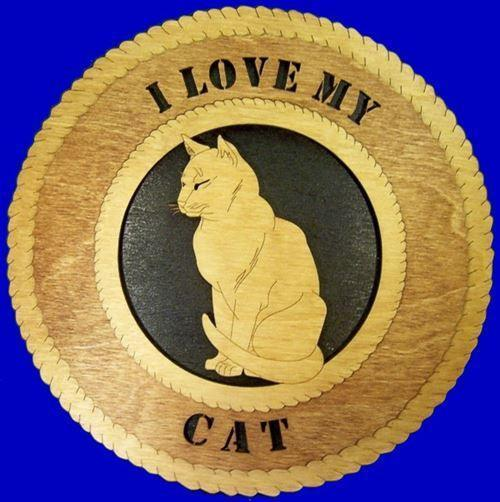Laser Pics and Gifts:  SNOOZE CAT Plaque - Laser Pics & Gifts