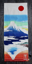 Chu-sen dyed Tenugui, Mt. Fuji Reflected