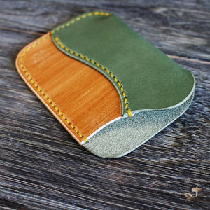 Card Pocket - Matcha and Kakishibu