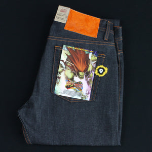 "Blanka ""Electric Surge"" Selvedge - Weird Guy fit"