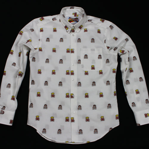 Ryu + Ken Jacquard Shirt - Regular Shirt