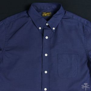 "Stevenson Overall Co. ""Old Ivy"" Indigo dyed Oxford shirt"