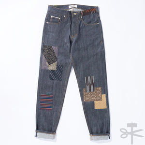 WHT Boro Patchwork Left Hand Twill - Easy Guy fit size 29