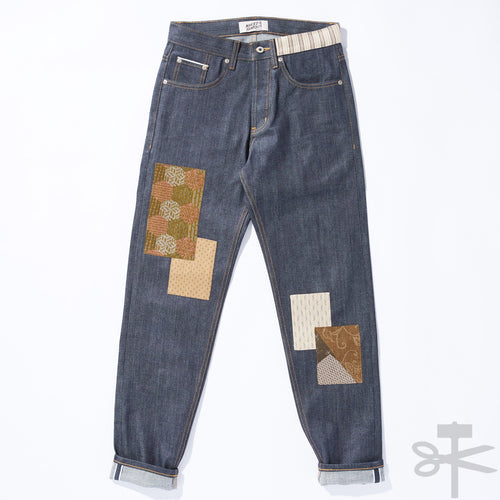 WHT Boro Patchwork Left Hand Twill - Easy Guy fit size 28