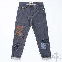 WHT Boro Patchwork Left Hand Twill - Easy Guy fit size 33