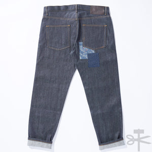WHT Boro Patchwork Left Hand Twill - Easy Guy fit size 36