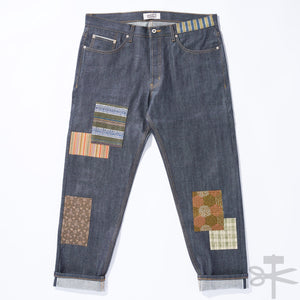 WHT Boro Patchwork Left Hand Twill - Easy Guy fit size 38