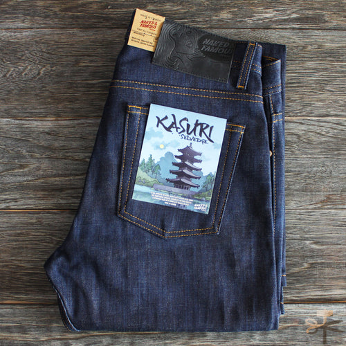 Kasuri Selvedge - Weird Guy fit