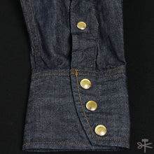 "Stevenson Overall Co. ""Cody"" Indigo Denim Western Shirt"