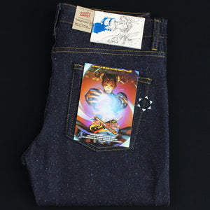 "Chun-Li Silk ""Lightning Leg"" Denim - Super Skinny Guy fit"