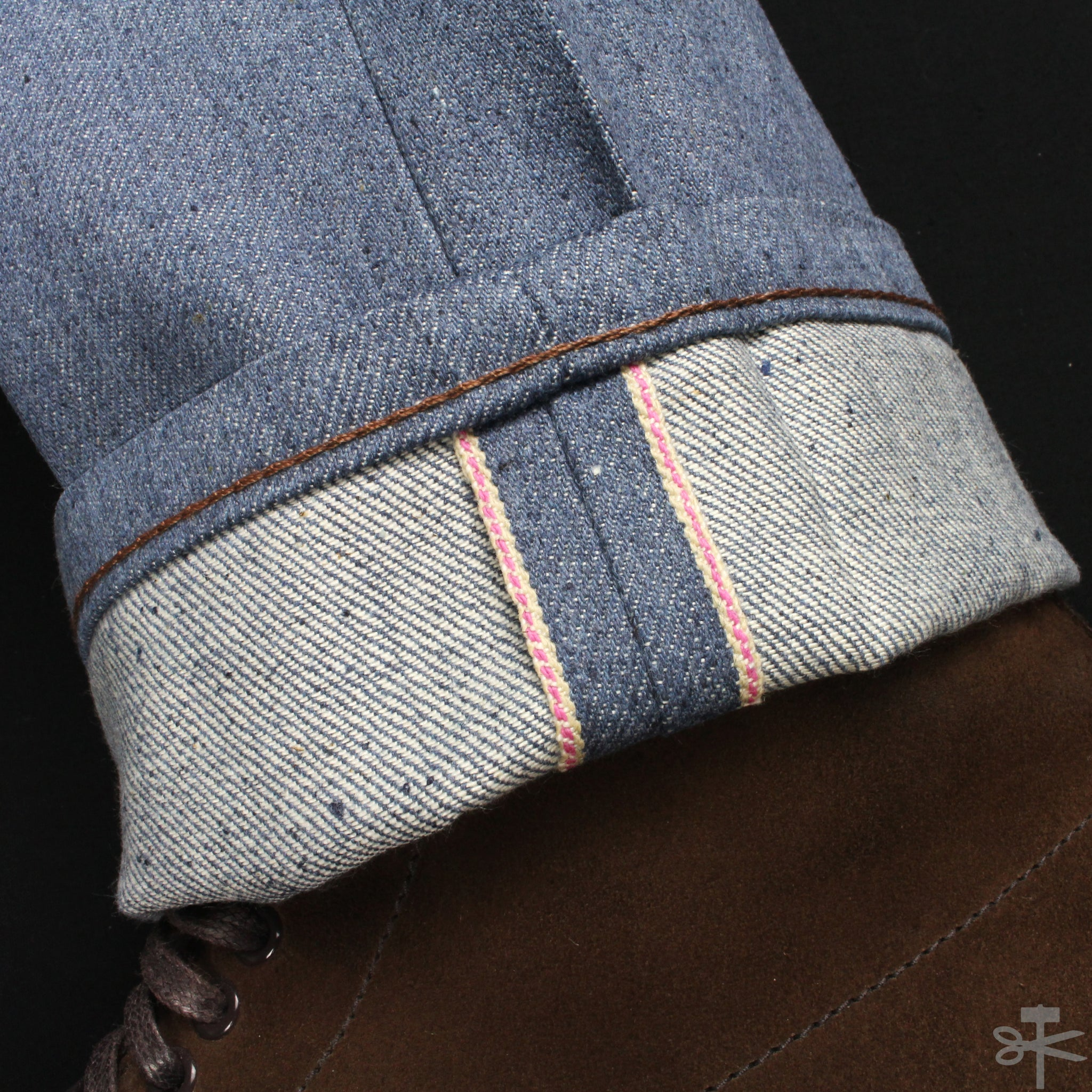 Recycled Yarn Selvedge - Weird Guy fit – Wright Hand Twill