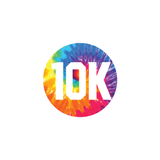 10k Colored Round Decal (C)