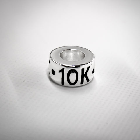 10k Silver Plated Bead