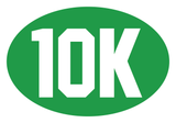 10k Oval Decal (C)