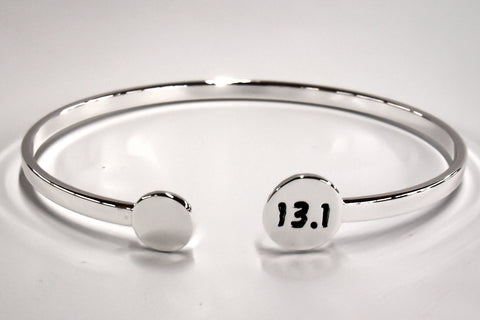 13.1 Silver Plated Bangle